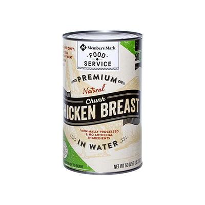 Daily Chef All Natural Chicken Breast - 50 oz.