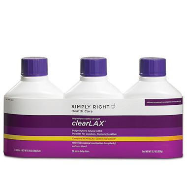 Simply Right™ ClearLAX® (17.9 oz., 3 pk.)