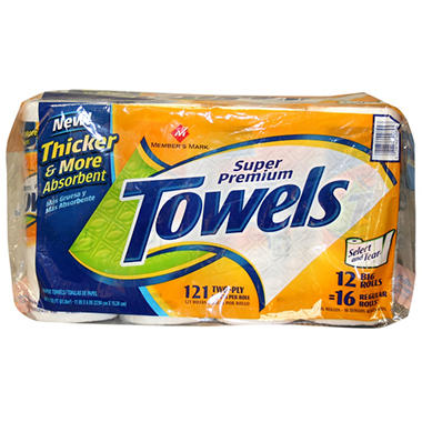 Member's Mark Paper Towel - 12 Roll