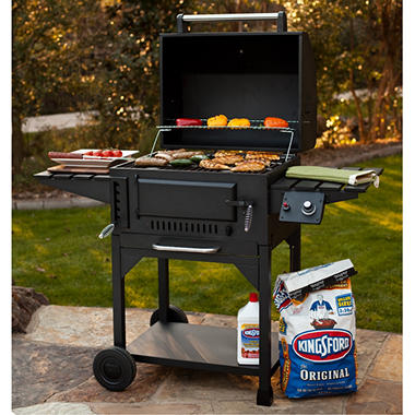 Member's Mark� Gas Fired Ignition Charcoal Grill
