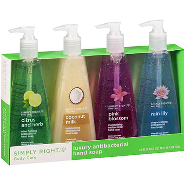 Simply Right™ Luxury Antibacterial Hand Soap - 8.5 oz. - 4 ct.