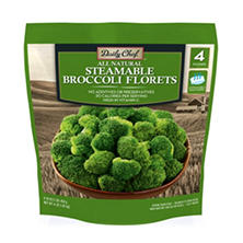 Steamable Broccoli Florets (1 lb. bag, 4 ct.)