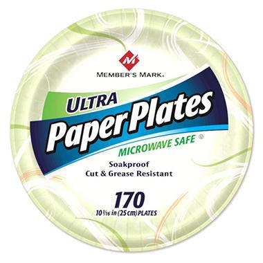 Member's Mark Ultra Paper Plates, 10 1/16