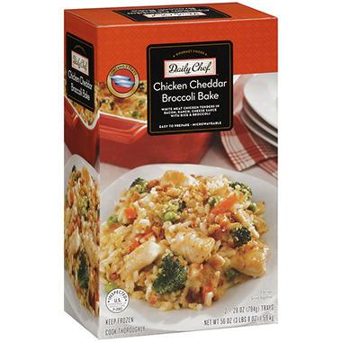 Daily Chef™ Chicken Cheddar Broccoli Bake - 28 oz. - 2 ct.