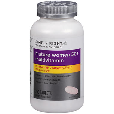 Simply Right? Mature Women 50+ Multivitamin - 250 ct.