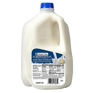 Daily Chef™ 2% Reduced Fat Grade A Milk - 1 gal.