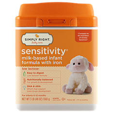 Simply Right Sensitivity Infant Formula (48 oz.)