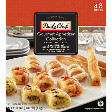 Daily Chef Gourmet Appetizer Collection - 31.74 oz. - 48 pcs.