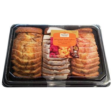 Artisan Fresh Gourmet Loaf Cakes - 43 oz.