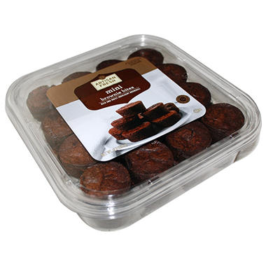 Artisan Fresh Mini Brownie Bites - 32 ct.