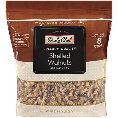 Daily Chef Shelled Walnuts - 32 oz.