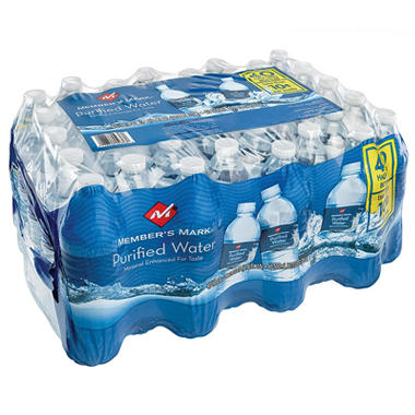 Member's Mark Purified Water 40 pack / 16.9 oz.