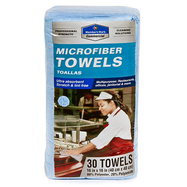 Member's Mark Microfiber Towels - 30 ct.