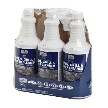 Member's Mark Commerical Oven, Grill and Fryer Cleaner (32oz., 3pk.)