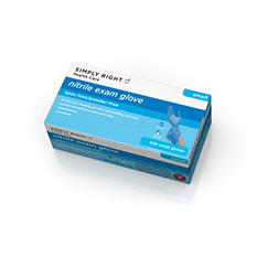 Simply Right Nitrile Exam Gloves, Small (200 ct.)