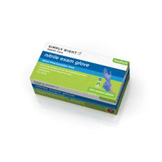 Simply Right Nitrile Exam Gloves, Medium (200 ct.)