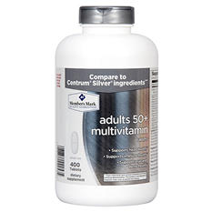 Simply Right Adults 50+ Multivitamin Tablets - 400 ct.