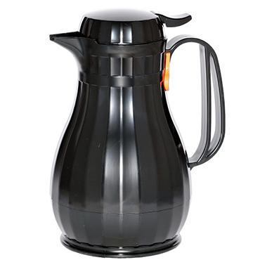 Black Insulated Thermal Beverage Carafe - 44 oz.