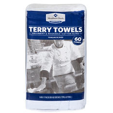 Member's Mark Terry Towels, 60 Pack
