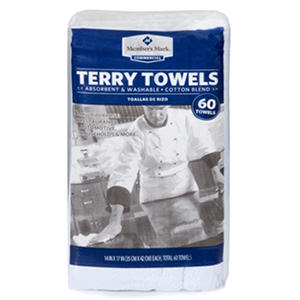 Member's Mark Terry Towels - 60 pk.