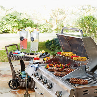 "27"" Member's Mark Outdoor Gas Grill"