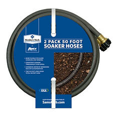 Member's Mark 50 Foot Soaker Hoses - 2 pk.