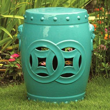 Ceramic Garden Stool - 18