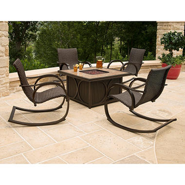 Member's Mark® Copa 5-Piece Fire Pit Chat Set, Original Price $999.00