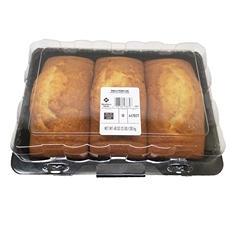 Daily Chef Vanilla Pound Cake (3 pk., 48 oz.)