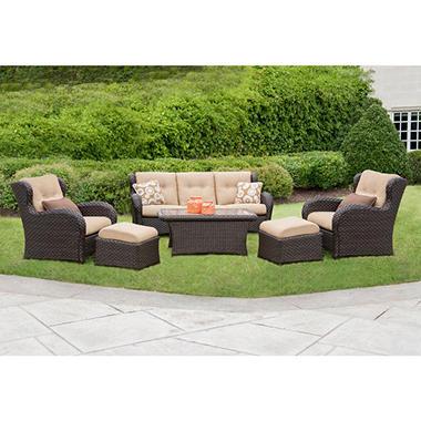 Member's Mark® Heritage Deep Seating Set with Premium Sunbrella® Fabric - 6 pcs.