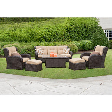 Member's Mark� Heritage Deep Seating Set with Premium Sunbrella� Fabric - 6 pcs.