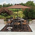 Member's Mark® Heirloom Bay Slate Dining Set with Premium Sunbrella® Fabric - 8 pcs. Original Price $999.00Image