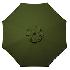 10' Market Umbrella with Premium Sunbrella Fabric