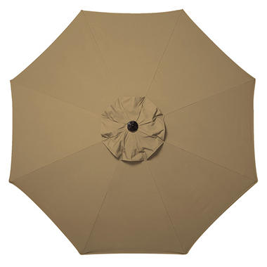 10' Market Umbrella with Premium Sunbrella® Fabric - Beige