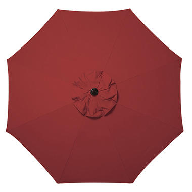 10' Market Umbrella with Premium Sunbrella� Fabric - Red