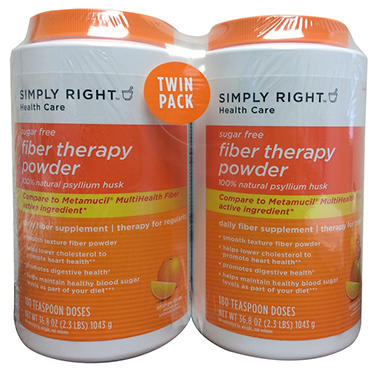 SImply Right Fiber Therapy Powder, 180 Doses (2 pk.)