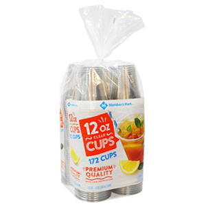 Daily Chef Clear 12 oz. Plastic Cups (152 ct.)