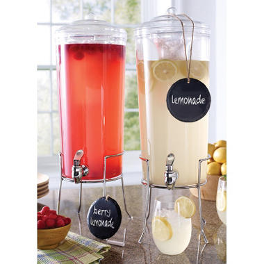 Daily Chef 2-Pack Unbreakable Tritan Beverage Servers