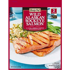 Daily Chef  Wild Alaskan Sockeye Salmon (2 lbs.)