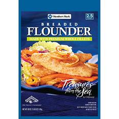 Member's Mark Breaded Flounder (40 oz.)