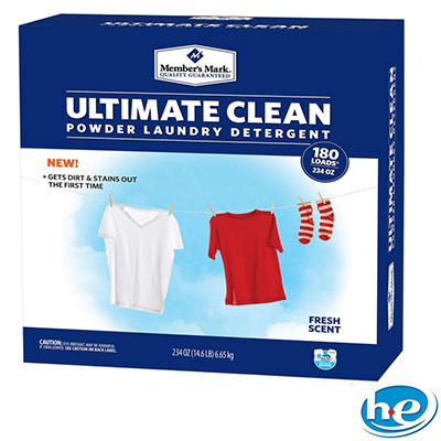 Member's Mark Ultimate Clean Powder Laundry Detergent (234 oz., 180 Loads)