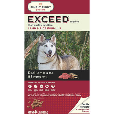 Sams Exceed Dog Food