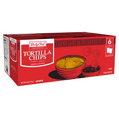 Daily Chef Round Tortilla Chips 3 lbs. (2 ct.)