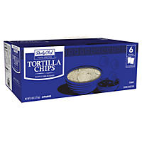 Daily Chef White Round Tortilla Chips 3 lbs. (2 ct.)