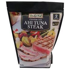 Daily Chef Frozen Ahi Tuna Steaks (2 lbs.)