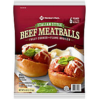 Daily Chef Italian Style Beef Meatballs (6 lb. bag)
