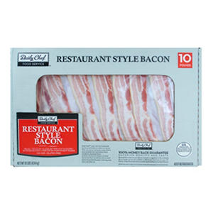 Daily Chef  10# Food Service Bacon (10 lbs.)