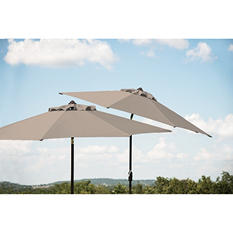 10' Market Umbrella - Specturm Dove