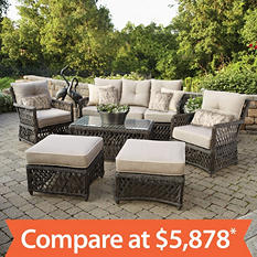 Reneés 6-Piece Deep Seating Set with Premium Sunbrella Fabric