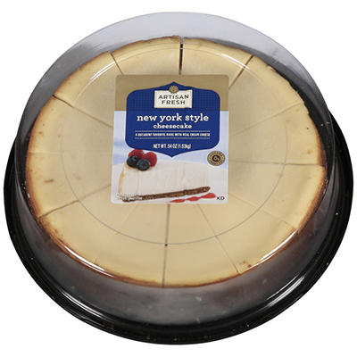 Artisan Fresh Sliced New York Cheesecake - 9""